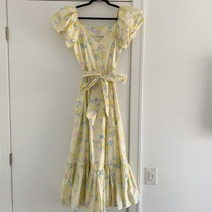 LoveShackFancy x Target Ines Yellow Dress - Size 2